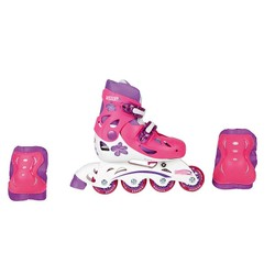 Set Rollers Inline 4 roues  - Taille 33-36