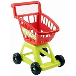 Chariot de supermarché + sac dinnette