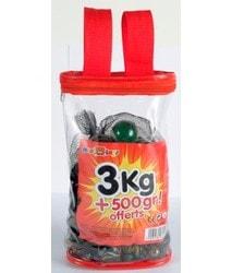 Sac de billes 3 kg + 500 gr