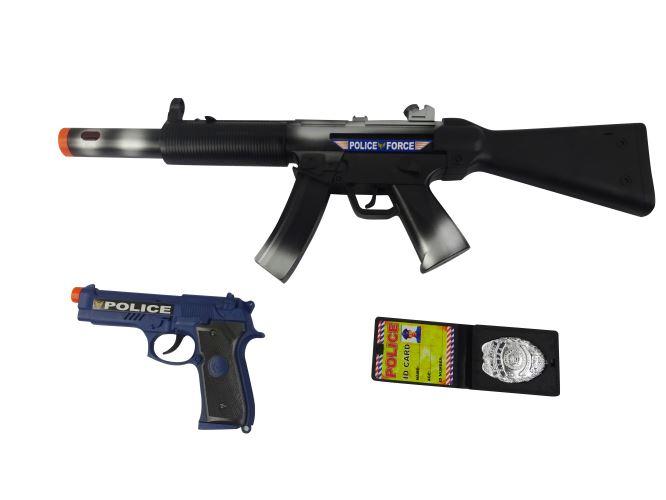 Set police : fusil + accessoires