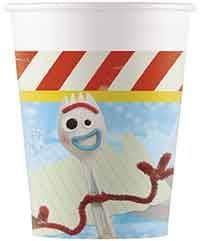 8 gobelets carton 200 ml - Toy Story