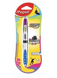 Maped Stylo Bille 4 couleurs soft Twin Tip