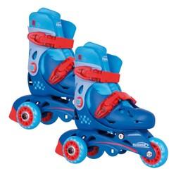Rollers évolutifs 3 roues - Bleus