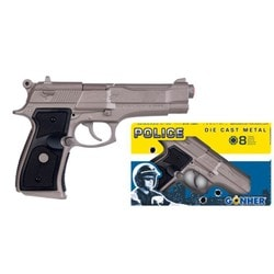 Pistolet police 8 coups
