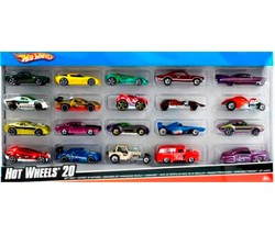 Pack 20 voitures Hot Wheels
