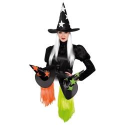 Chapeau sorcière + perruque