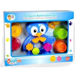 Set de bain pingouin