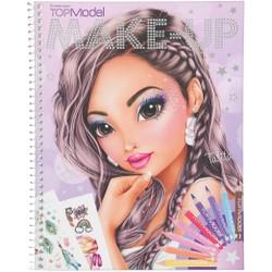 Livre de coloriage Top Model Create your Make-Up