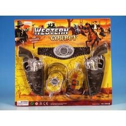 Set de 2 revolvers cowboy avec accessoires
