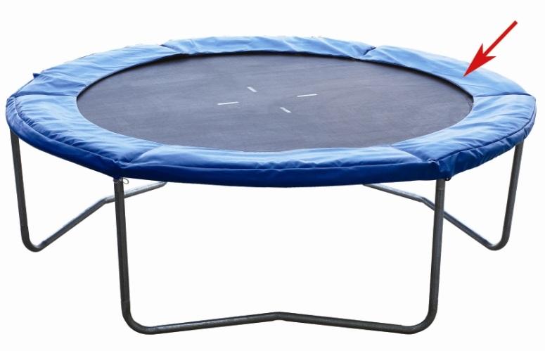 Coussin de protection pour trampoline de 366cm