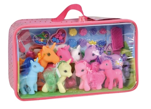 Kid s world - Ma famille poneys
