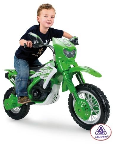Moto de cross électrique  1 place