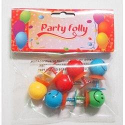 6  smileys sauteurs- Party folly