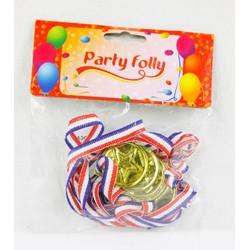 6 Médailles Dorées- Party folly