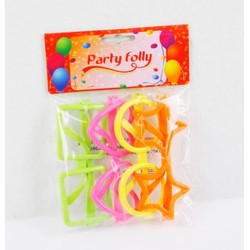 4 Lunettes fun - Party Folly