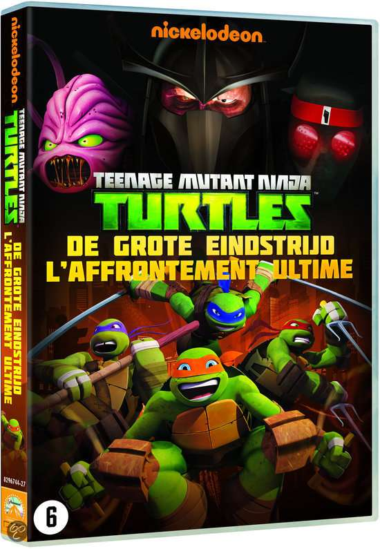 Tortues Ninja, Affrontement Ultime (DVD)