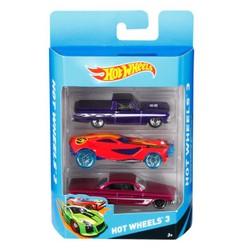 Hot Wheels set de 3 véhicules