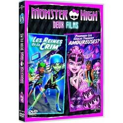 Monster High Les Reines de la Crim'/Pourquoi les Goules tombent amoureuses (DVD)