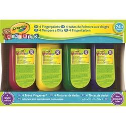 4 bouteilles de peinture aux doigts Mini Kids