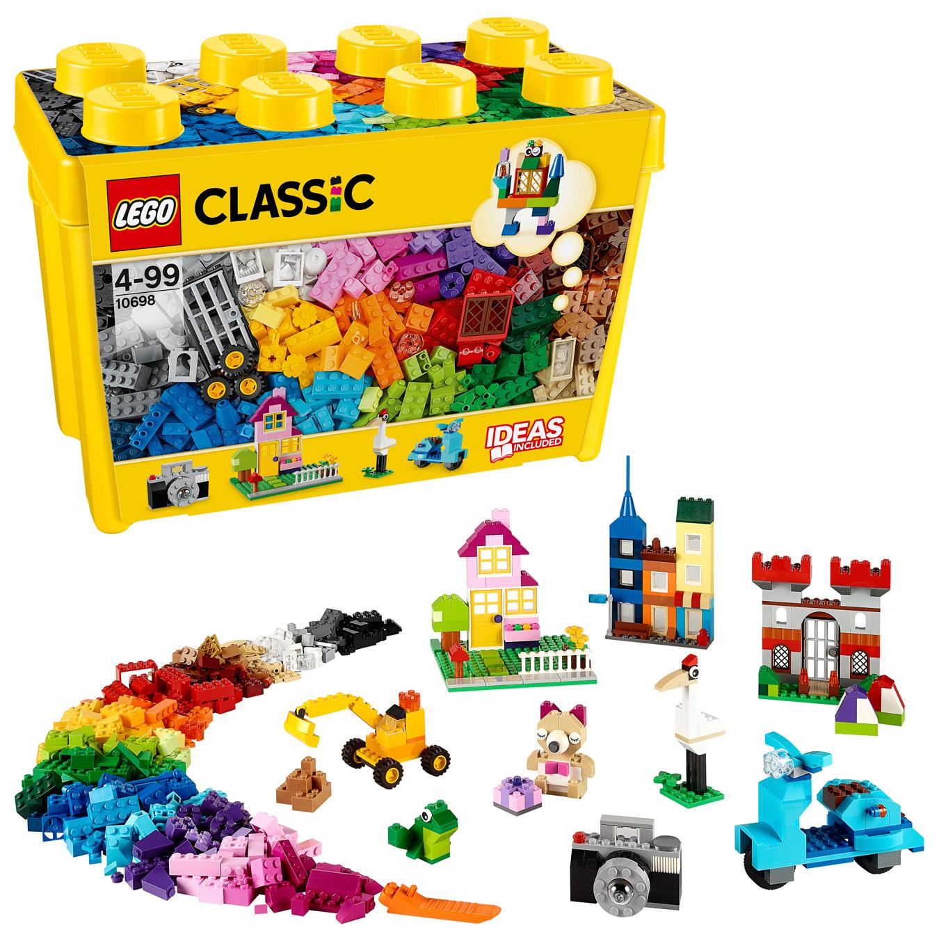 Boîte de briques créatives deluxe - LEGO Classic - 10698