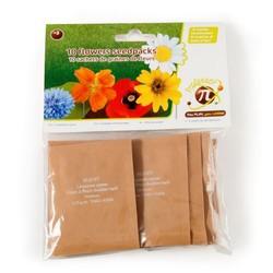 10 sachets de graines fleurs
