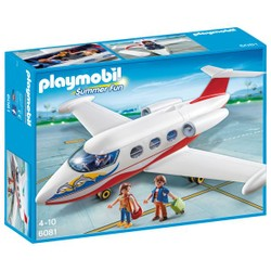Avion avec pilote et touristes - PLAYMOBIL Summer Fun - 6081