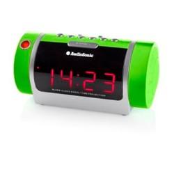 Radio Réveil Projecteur (couleur vert)