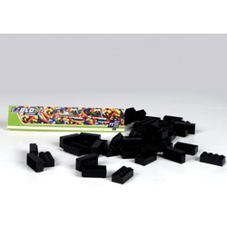 Sachet 75 briques - Coloris noir