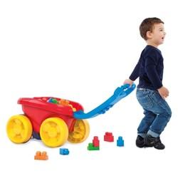 Wagon ramasseur de blocs
