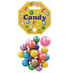 20 Billes Candy et 1 calot