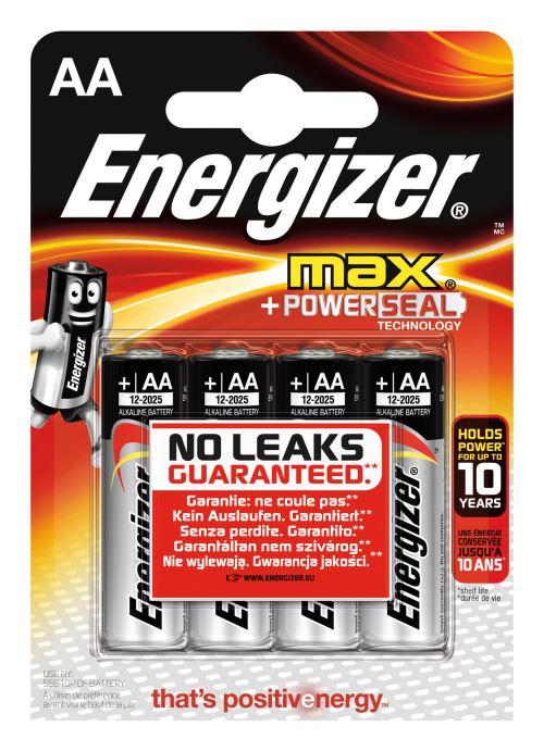 Piles Energizer Max - 4 x LR6 (AA)