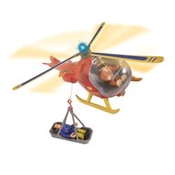 Hélicoptère + figurine Sam le Pompier