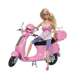 Le scooter de Qweenie