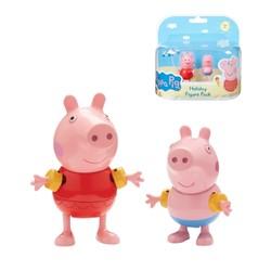 Peppa Pig en vacances - Blister 2 figurines