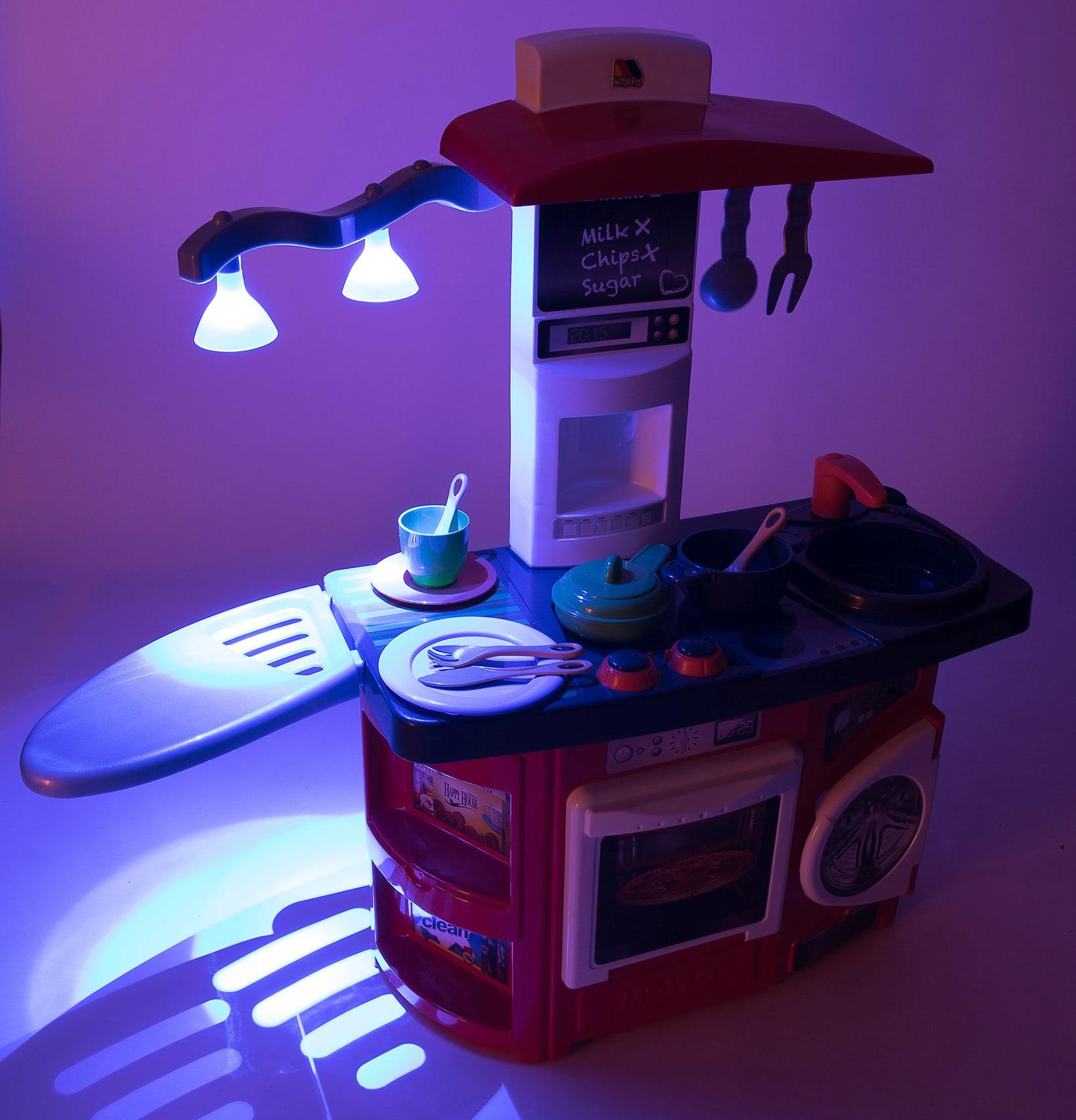 Cuisine moderne avec lumière