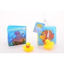 Livre de bain avec canard