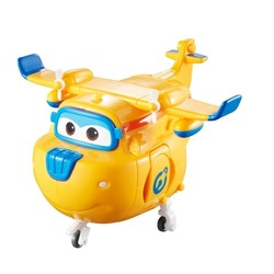 Super Wings - Avion transformable Jaune - Donnie