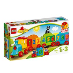 Le train des chiffres - LEGO DUPLO - 10847