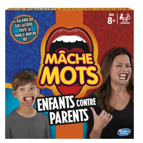 Mâche Mots Enfants contre Parents