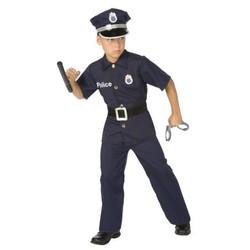 Déguisement de policier - Taille 128