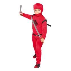 Déguisement de Ninja rouge - Taille 128