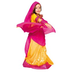 Déguisement de princesse Bollywood - Taille 110