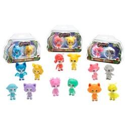 Glimmies - Pack 2 figurines lumineuses 6 cm