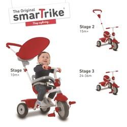 Tricycle Zip rouge