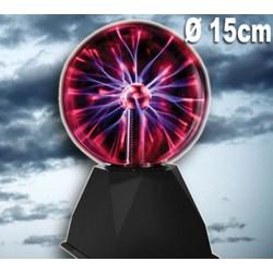 Lampe Electro-Plasma 15cm avec Adaptateur 12V (My Music Style)