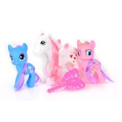 Set de 3 poneys