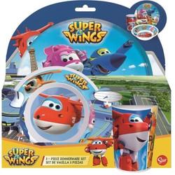 Set Déjeûner mélaminé Super Wings