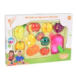 Set fruits ou légumes à découper