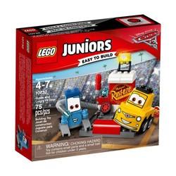 Le stand d'arrêt de Guido et Luigi - LEGO Juniors - 10732