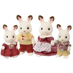 Famille lapin chocolat - Sylvanian Families - 4150